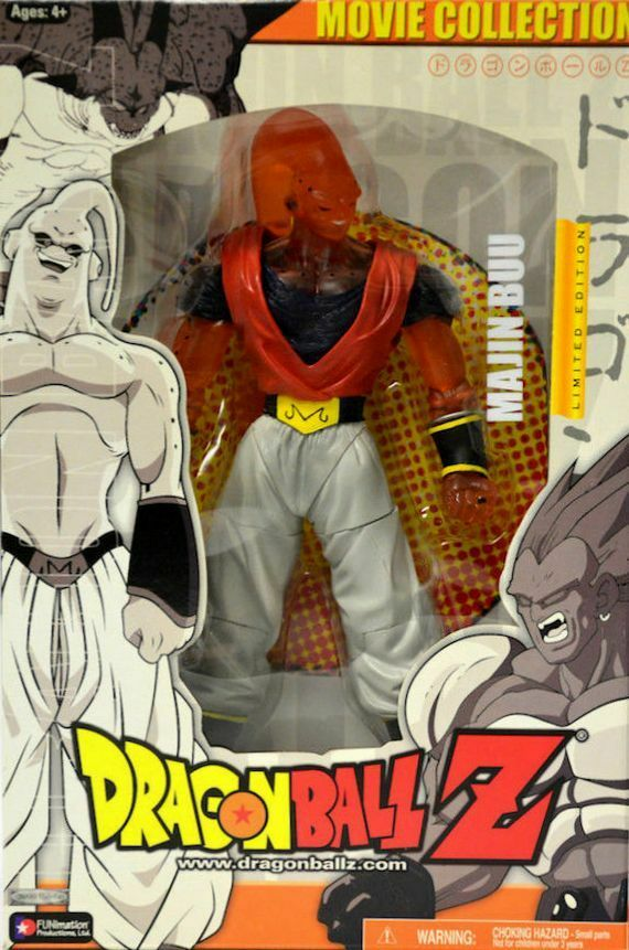 DRAGONBALL Z Limited Edition Majin Buu Movie New Factory Sealed 2004