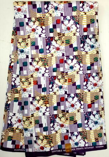 High Quality Polished African Ankara Wax Print 100/% Cotton Sell by 6 Yards
