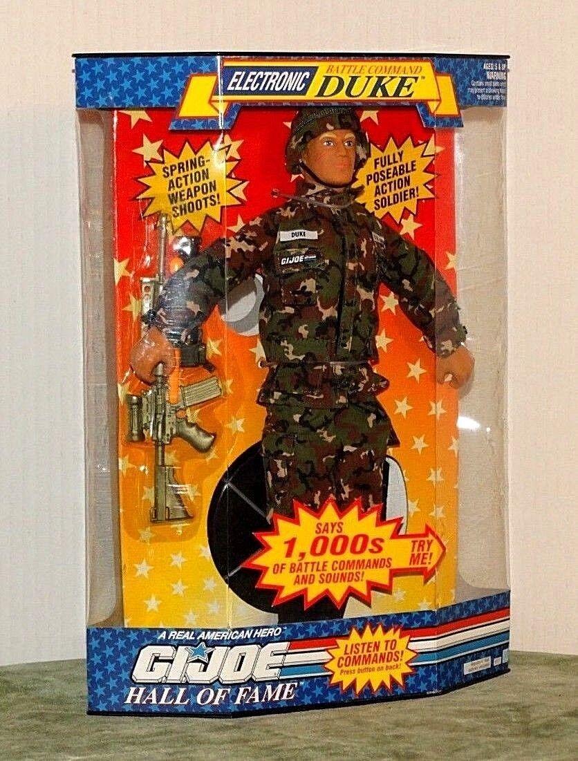 GI Joe Electronic Battle Command Duke NRFB