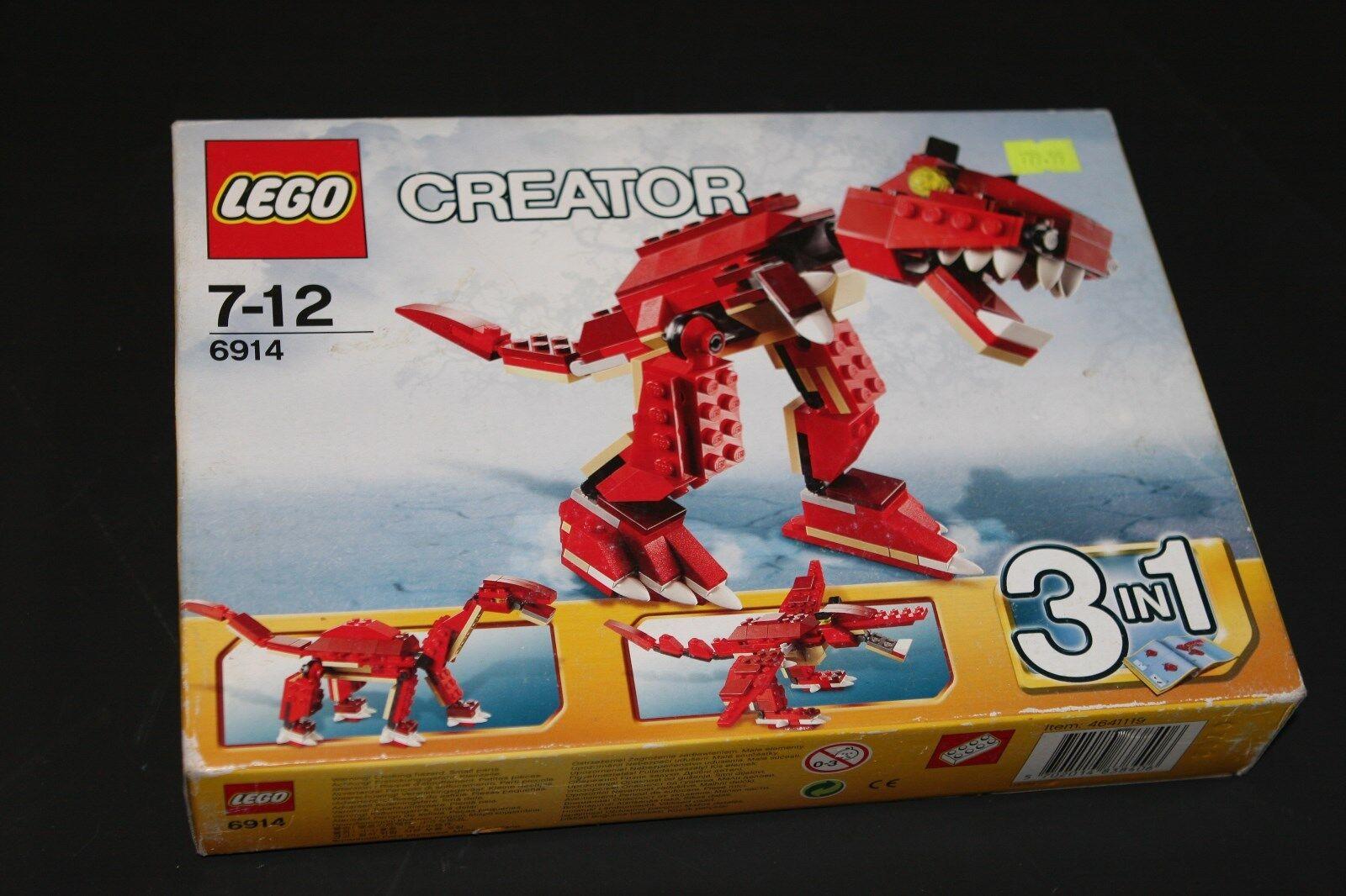 Lego 6914 RARE  Créateur Prehistoric Hunters  sortie d'exportation