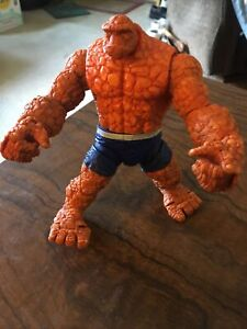 """Marvel Legends Fantastic Four Ronan Baf Series 6"""" Inch The Thing Action Figure"""
