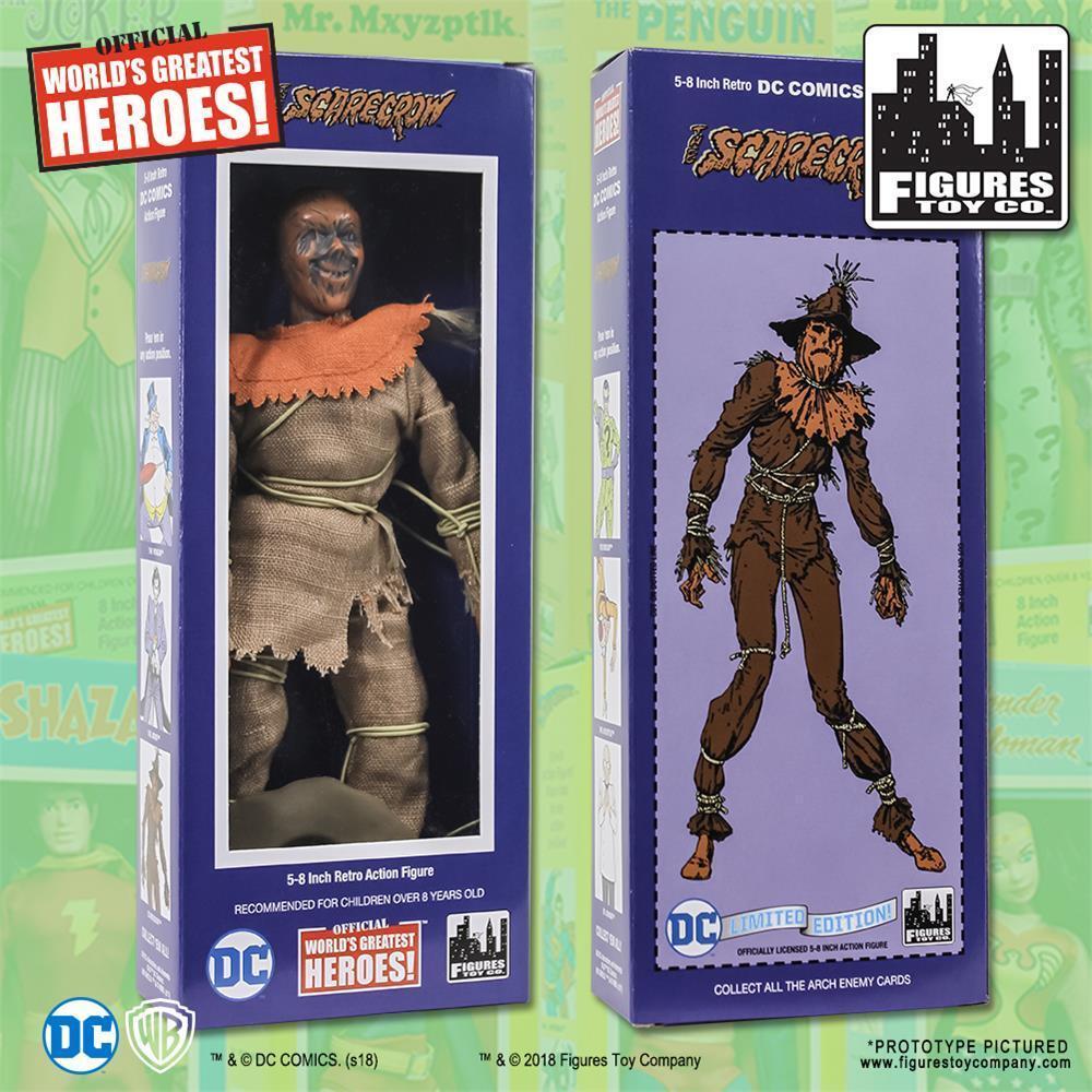 DC Comics retro Scarecrow 8