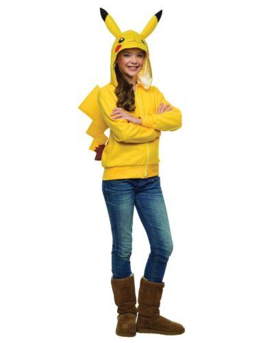 Tween Pokemon Pikachu Hoodie