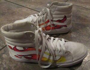 Vans White High Top Skater Sneakers