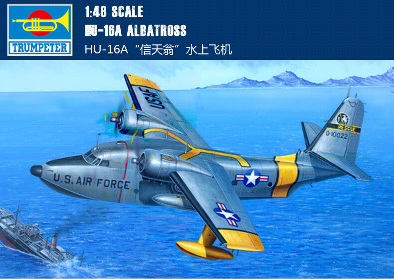 HU-16A ALBATROSS 1 48 aircraft Trumpeter model plane kit 02821