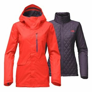 136014a749 The North Face Women s THERMOBALL SNOW TRICLIMATE Ski Jacket Fire ...