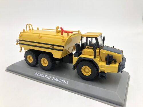 komatsu hm 400-1 citerne à eau véhicules de chantier 1//72 hachette collect neuf