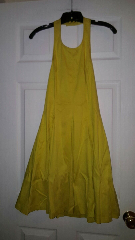 Jessica Simpson dress halter sleeveless Above knee length