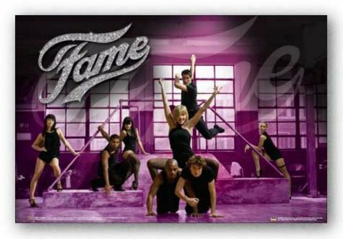 MUSICAL MOVIE POSTER Fame Movie Poster Glitter