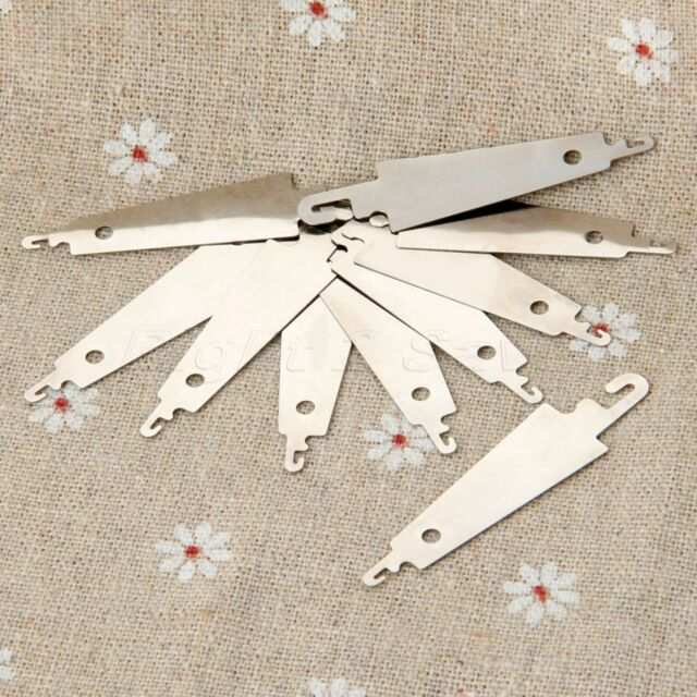 10pcs Stainless Steel Hook Needle Threader For Hand Sew Embroidery Cross Stitch