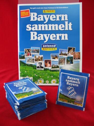 Leeralbum Panini Bayern sammelt Bayern 50 Tüten Album = 250 Sticker