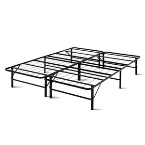 sale retailer b386c d2737 Artiss Foldable Queen Metal Bed Frame - Black | eBay