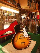 Vintage 1960's Harmony Rocket H-59 Triple Pickup Electric Hollowbody Guitar