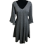 Lane-Bryant-Bell-Sleeve-Fit-amp-Flare-Sweater-Dress-Womens-Plus-18-20-EUC thumbnail 1