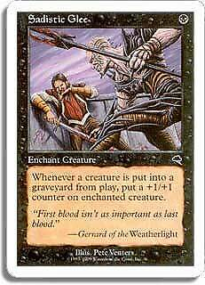 Sengir Vampire Battle Royale HEAVILY PLD Black Uncommon MAGIC MTG CARD ABUGames