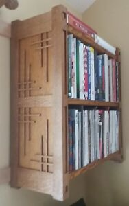 Image Is Loading New Arts Amp Crafts Wall Mounted Book Cases