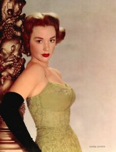 Pinup Lithograph Piper Laurie 1953 Fink Cheesecake Promo Photo Original VTG