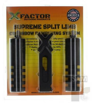 FACTEUR X Supreme Split Limb Crossbow système de mouillage Stabilisateur Silencieux Bow