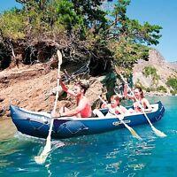 Inflatable Kayak Boat Canoe 3 Man Person Seat Adjustable Straps Fishing Kayaking