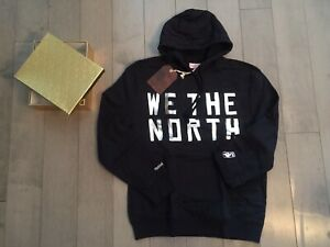 sports shoes c0f86 2116b Details about Official - Toronto Raptors Hoodie WE THE NORTH Mitchell &  Ness Ltd Ed. OVO