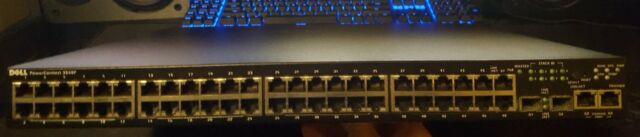 Dell  (M727K) Rack-Mountable Ethernet Switch (3548P)