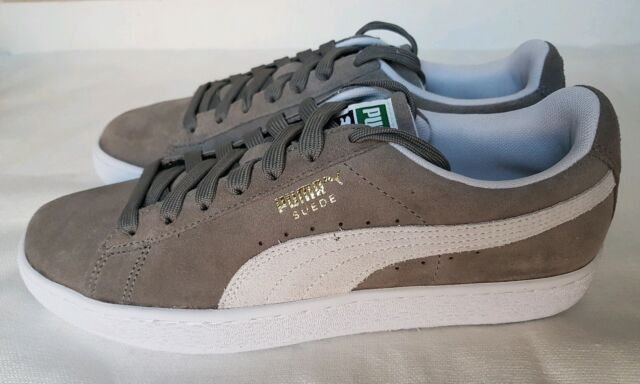 puma suede steeple grey