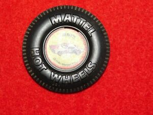 VINTAGE-CLIP-BACK-BUTTON-PLASTIC-1970-MATTEL-HOT-WHEELS-SNAKE-II