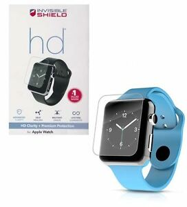buy online ec8ea 51dd4 Details about GENUINE ZAGG INVISIBLESHIELD HD SCREEN PROTECTOR APPLE WATCH  SERIES 3 / 2 38MM