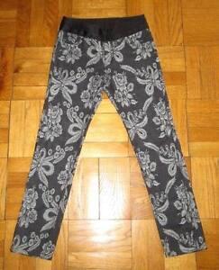 Denim Garcons Des Imprimé Noir Taille Ceinture Watanabe En Soie Junya Pantalon De Ceinture Comme pBqPExt
