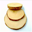 Raw Natural Material Craft Decoration Wood Sections Growth Rings Trees Table Mat