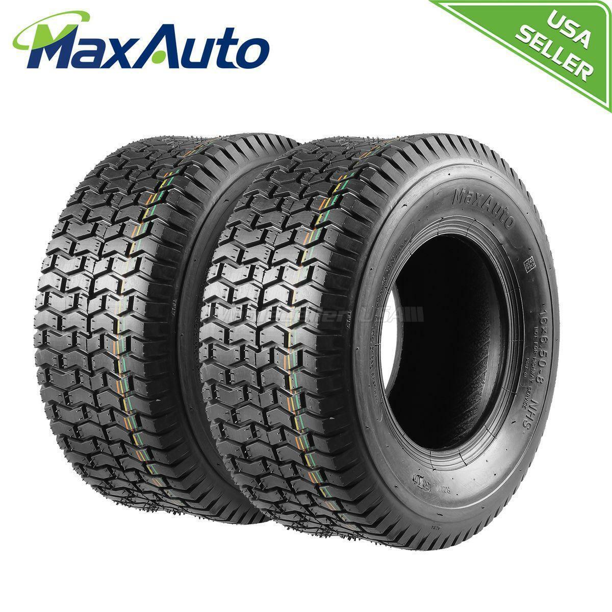 2ply Fits Carlisle Rotary 8541 Tire Turf Saver 16x750x8 16x7.50x8