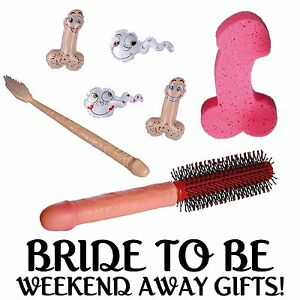 Bride to be gifts hen night accessories hen weekend for Get away for the weekend