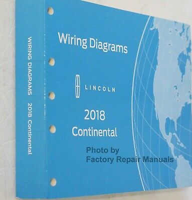 2018 Lincoln Continental Electrical Wiring Diagrams Manual ...