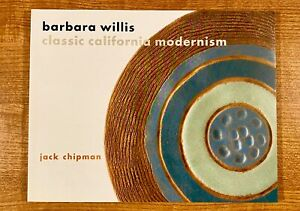BARBARA-WILLIS-CLASSIC-CALIFORNIA-MODERNISM-by-Jack-Chipman-LIKE-NEW