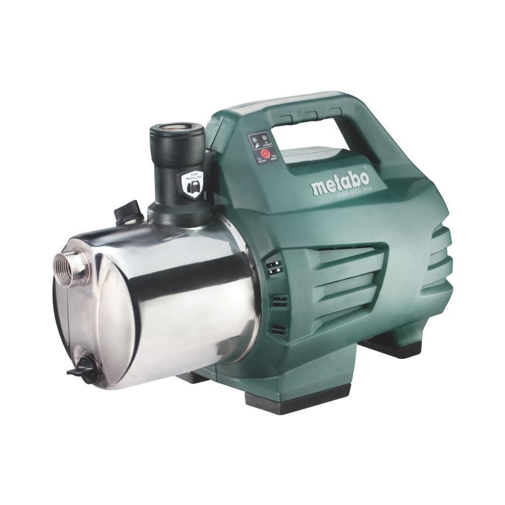 Metabo acqua domestica Automatica HWA 6000 INOX   1.300 Watt   6000 L H