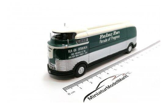 BoS GM Futurliner - dunkelgreen - GM Parade Parade Parade of Progress - 1953 - 1 87 9a1a3e