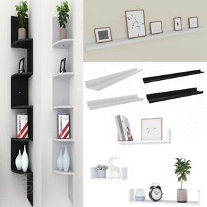 Swell Floating Display Ledge Shelves Wall Mount Storage Bookshelf Beutiful Home Inspiration Semekurdistantinfo