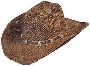 Hüte & Mützen Kleidung & Accessoires Nett Scippis Westernhut Strohhut Cowboyhut Country Hut Sommerhut »drover« Hickory Moderate Kosten