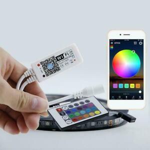 WiFi-Smart-LED-Strip-Light-Controller-RGB-App-Remote-new-For-Alexa-Control-G1R2