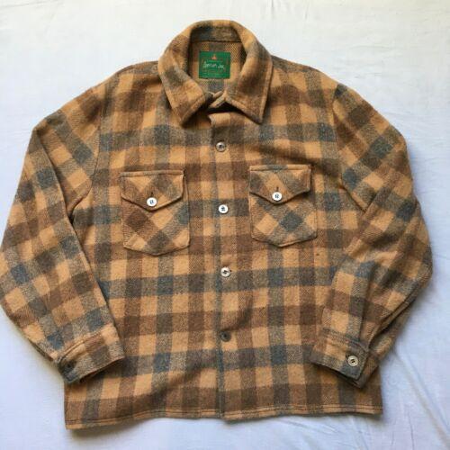 VTG Canadian Lumber Jac Wool Flannel Shirt Jacket