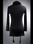 Punk-Mens-Turtleneck-Slim-Fit-Pullover-Personalized-Tee-Lace-UP-Casual-Shirt-Top thumbnail 6