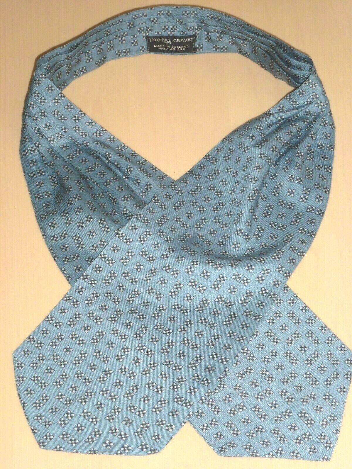 Vintage Tootal Cravat Scarf Dapper Mod Indie Goodwood Ascot Retro 1960s Menswear