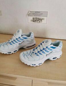 Scarpe Nike AirMax TN PLUS White/Blue taglie da 37 a 46