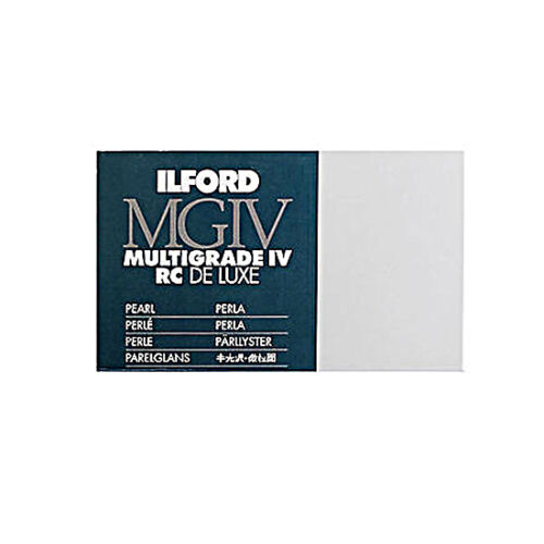 Carta Fotografica B//N Ilford Multigrade MGIV RC De Luxe 30x40 //50f  44M Perla