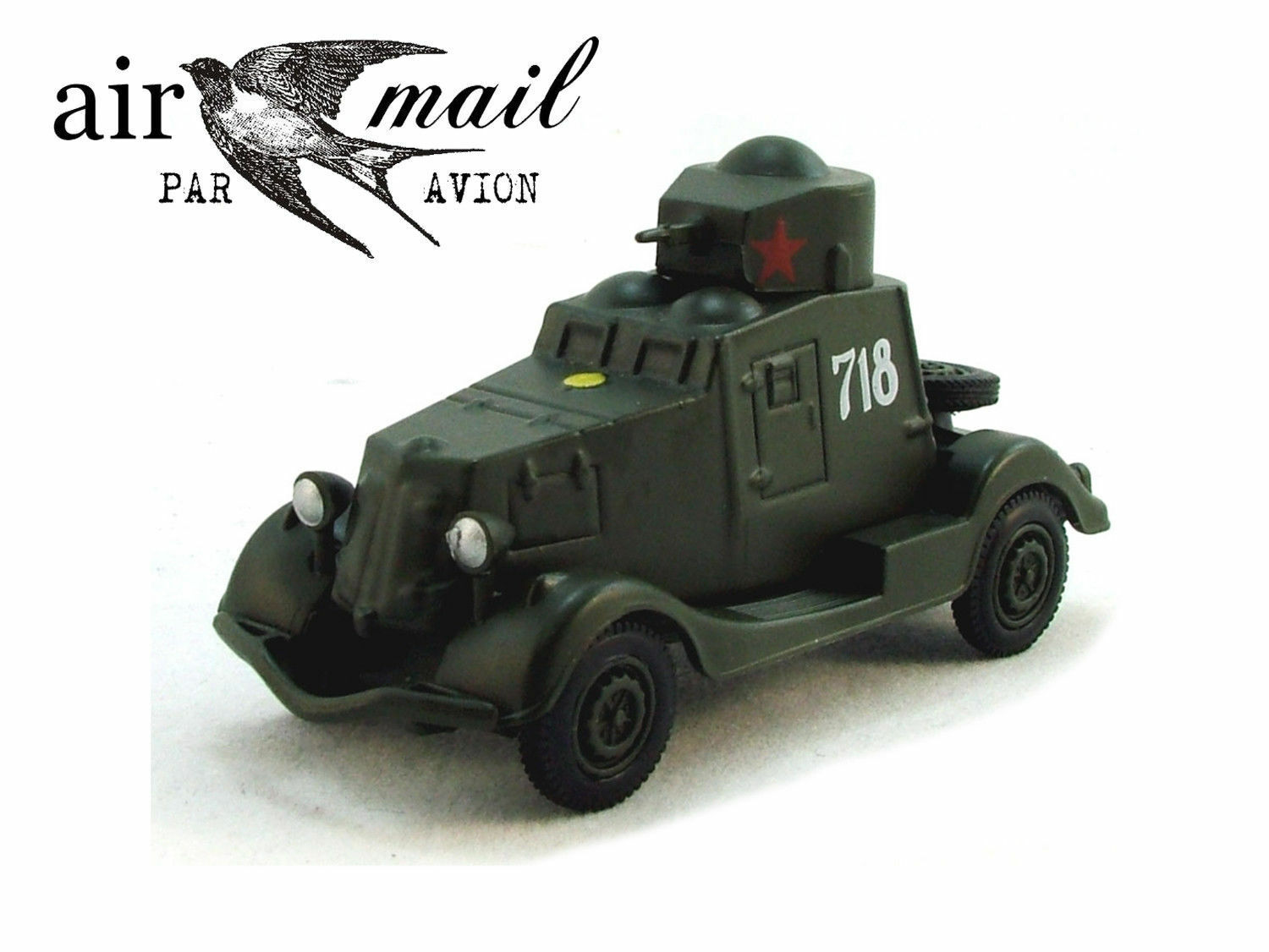 Rare Collection of 5 Soviet Military Vehicles 1 72 Scale Collectible Model Cars