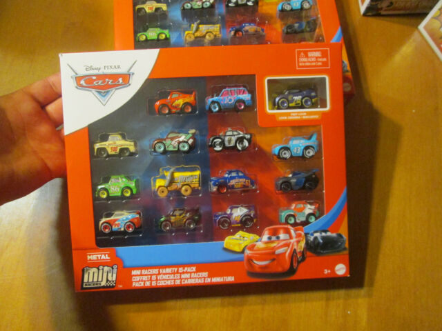 Disney Cars 3 Mini Racers Variety 15 Pack Metallic Metal Racing WILL RUSCH 2020