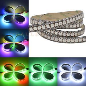 5V-2812B-LED-Strip-Individually-Programmable-IC-Chasing-Jumping-Color-Black-PCB
