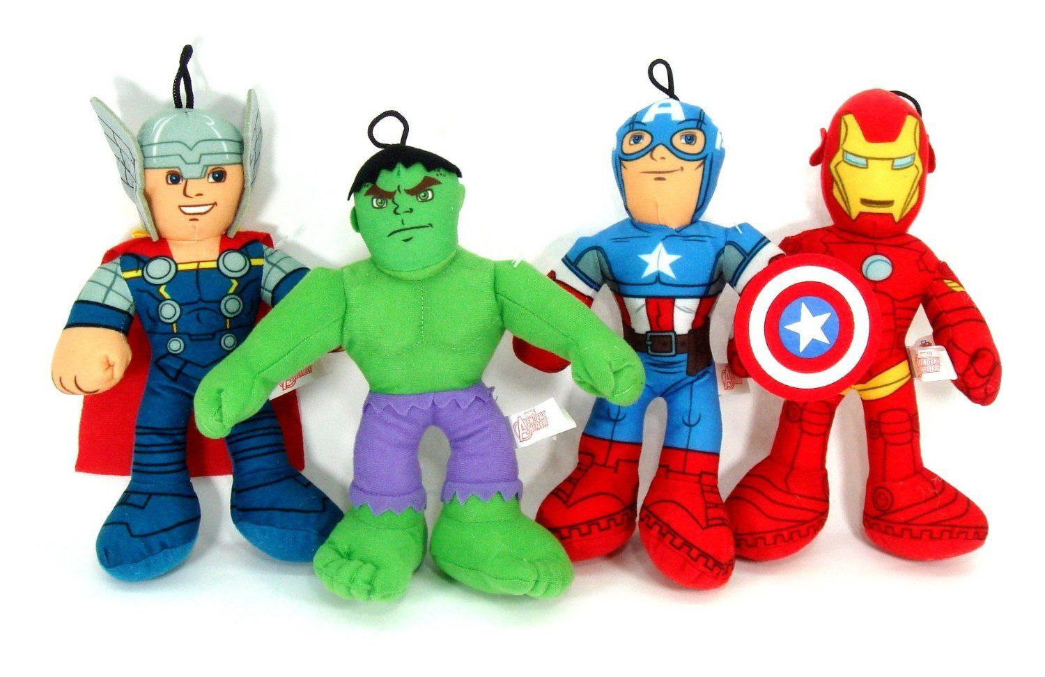 Captain America Thor Hulk Iron Man The Avengers 9  Plush Stuffed Toys-New