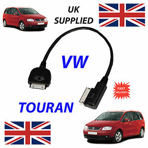 VW-Touran-MDI-000051446J-fuer-Apple-iPhone-iPod-4th-Generation-Audio-Kabel-amp