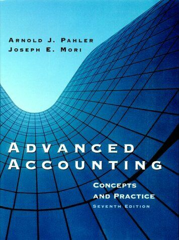 Advanced Accounting  Concepts and Practice  7th  Dryden Press Series